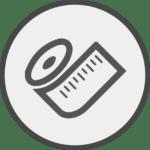 Icon Maßband
